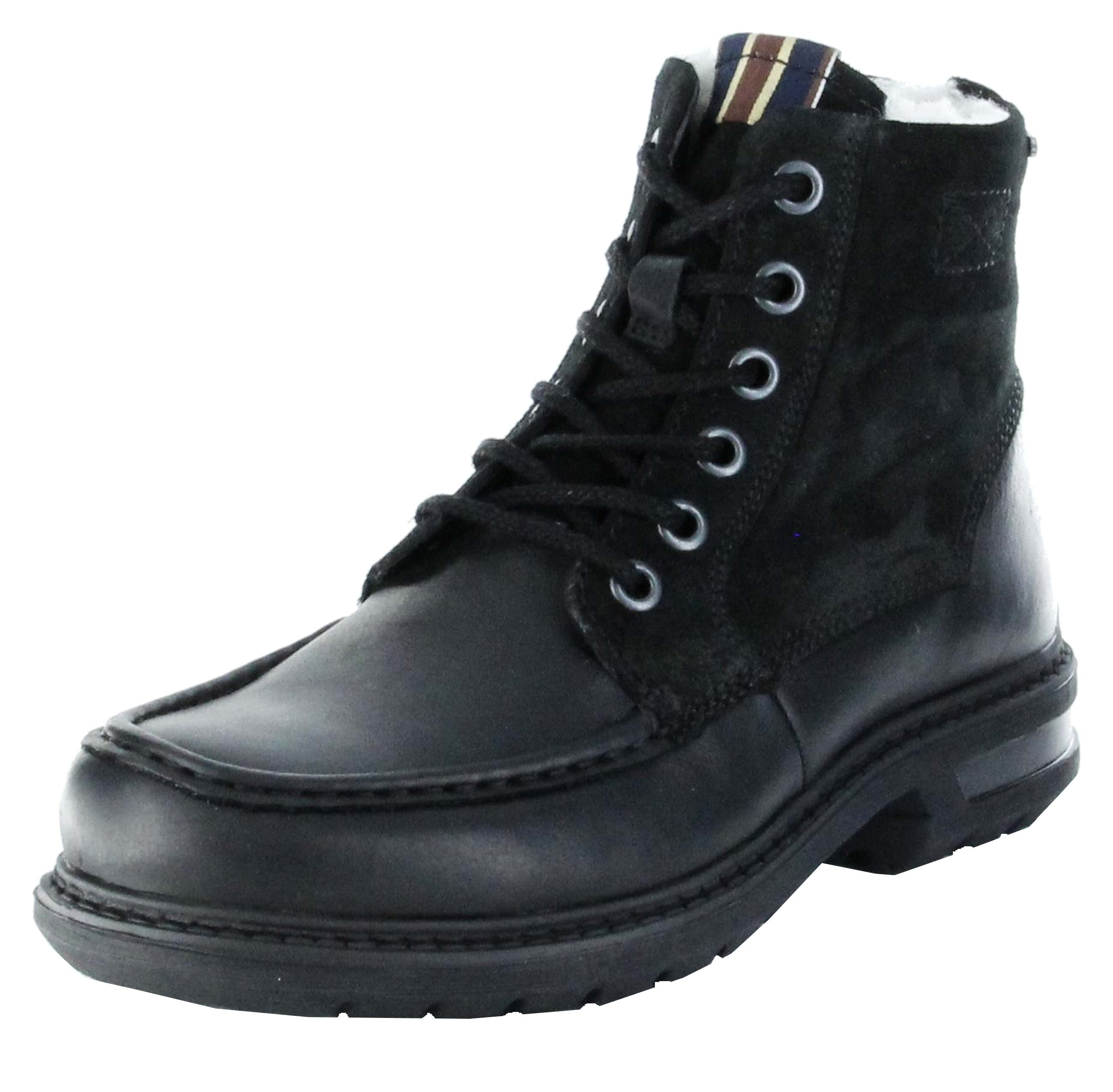 marc stiefel boots schwarz gore tex leder warm herren schuhe colt. Black Bedroom Furniture Sets. Home Design Ideas