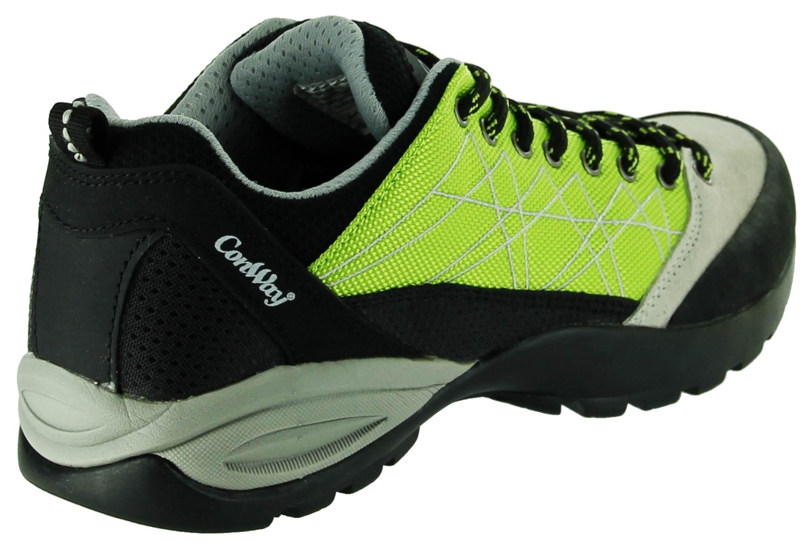 ConWay Sportschuhe Grün Damen Outdoor Wander Trekking Schuhe Condor, Farbe:Grün, Größe:41